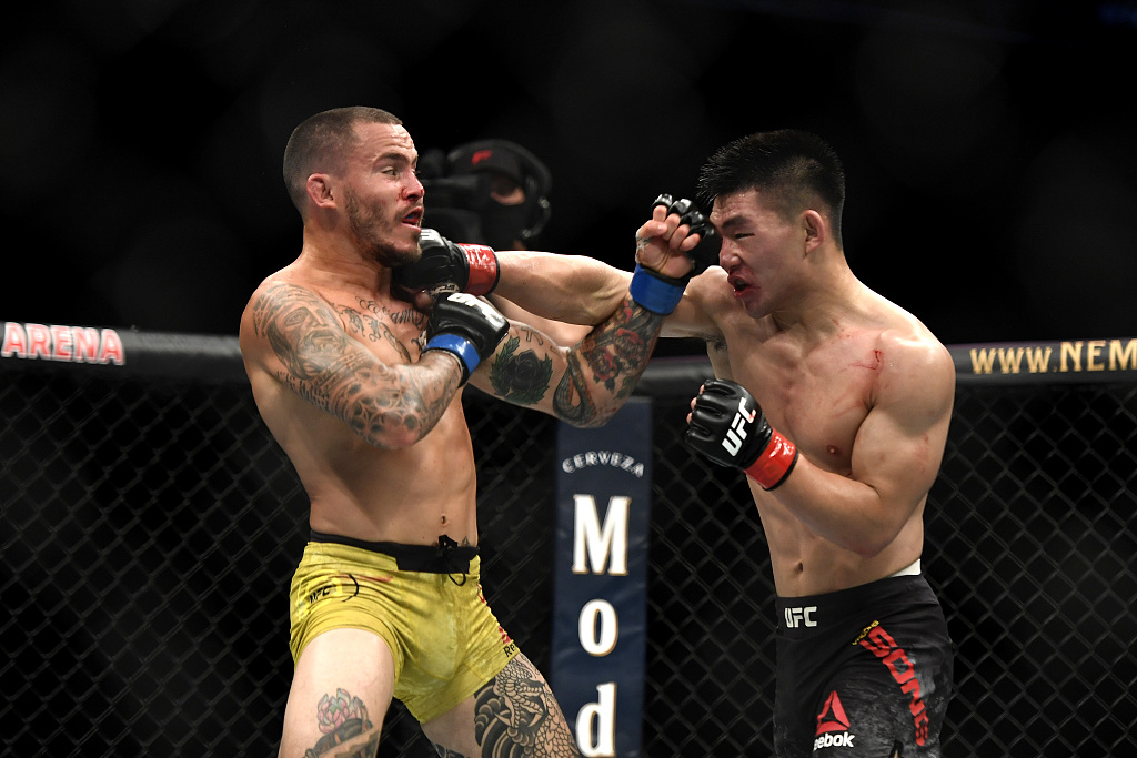 UFC: Song Yadong not satisfied with his victory against Marlon Vera - CGTN